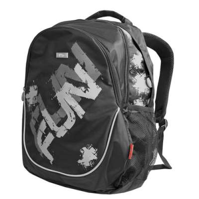 Plecak Easy Fun czarno-szary