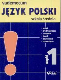 Vademecum mini Język polski 1 - Rzehak Wojciech