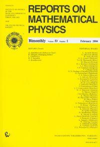 Reports on Mathematical Physics 53/1 wer.kraj. - brak
