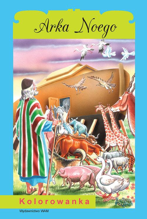 Kolorowanka. Arka Noego - Sałamacha Przemysław