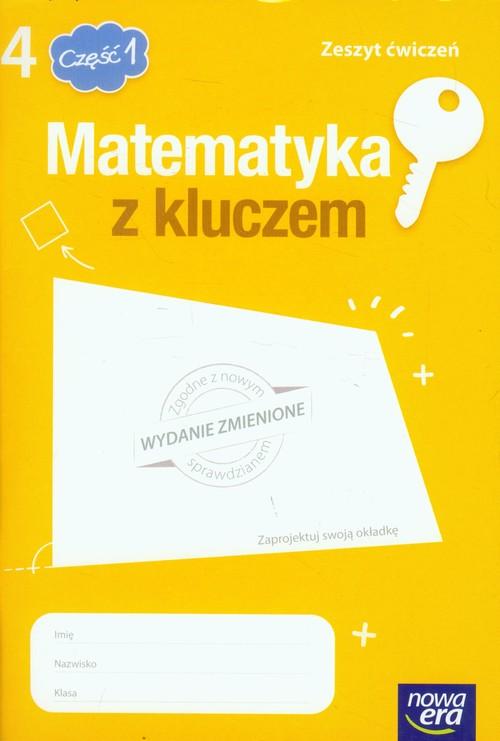 Matematyka z kluczem 4 Zeszyt ćwiczeń Część 1 - Braun Marcin, Mańkowska Agnieszka, Paszyńska Małgorzata