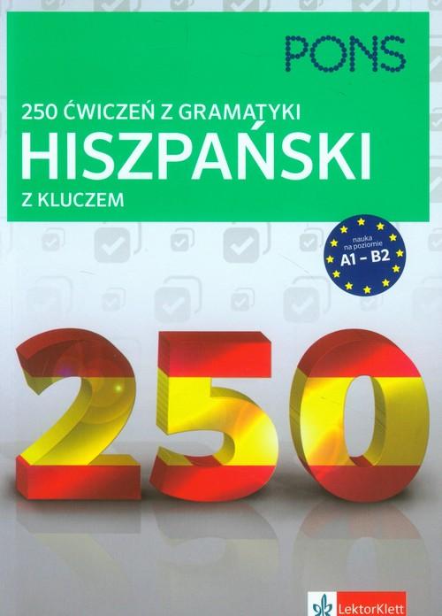 250 ćwiczeń z hiszpańskiego. Gramatyka PONS - brak