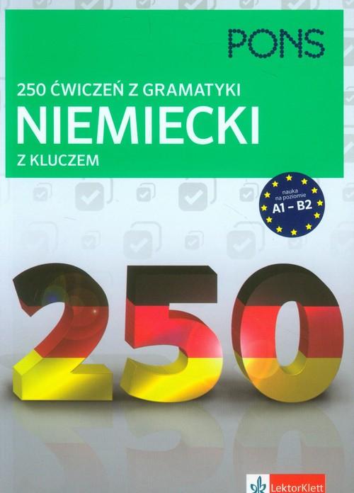 250 ćwiczeń z niemieckiego. Gramatyka PONS - brak