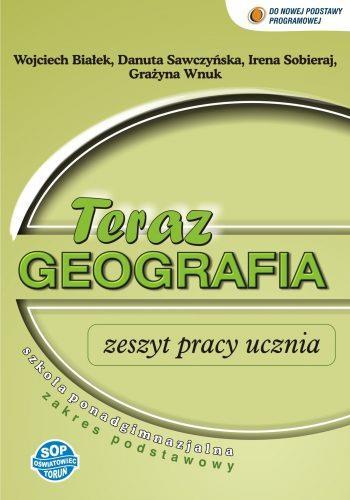 Geografia LO Teraz geografia zeszyt ćwiczeń SOP - Wojciech Bia