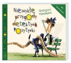 CD MP3 NIEZWYKŁE PRZYGODY DETEKTYWA POZYTYWKI - Grzegorz Kasdepke