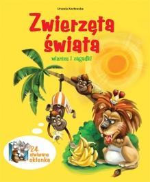 ZWIERZĘTA ŚWIATA WIERSZE I ZAGADKI - Urszula Koz