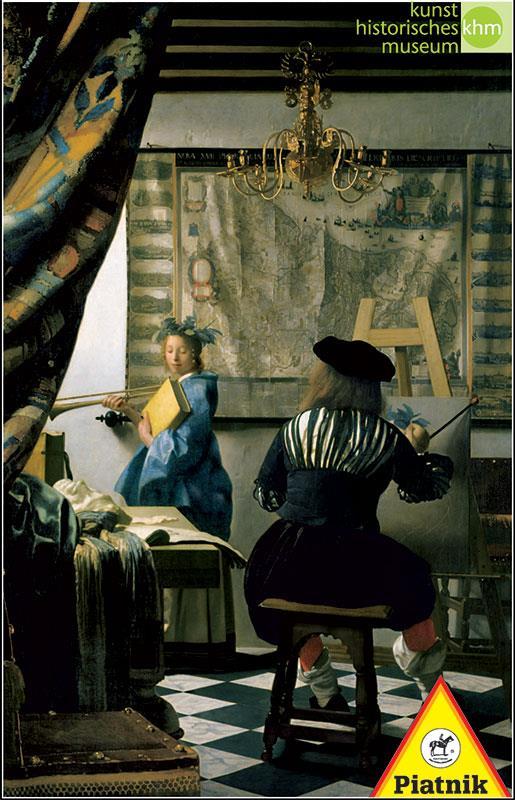 Puzzle 1000 - Vermeer, Alegoria malarstwa PIATNIK - brak