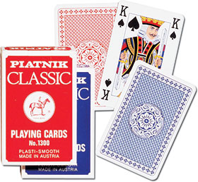KARTY DO GRY CLASSIC TALIA POJEDYŃCZA - Piatnik