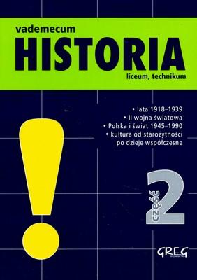 VADEMECUM HISTORIA CZ.2 LICEUM TECHNIKUM - OPRACOWANIE ZBIOROWE