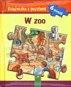 Książeczka z puzzlami - W zoo - praca zbiorowa