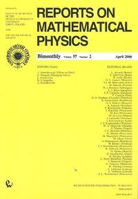 Reports on Mathematical Physics 57/2 - brak