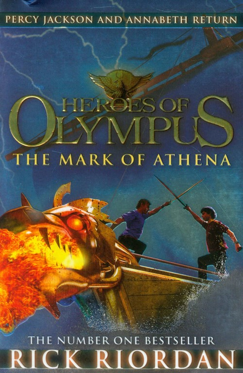 Heroes of Olympus The Mark of Athena - Riordan Rick