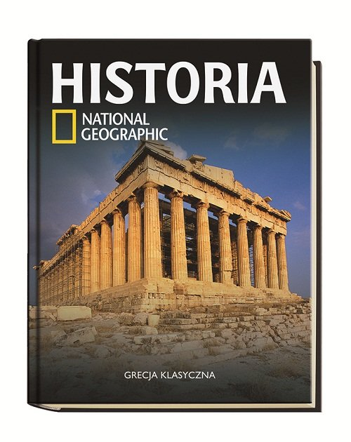 GRECJA KLASYCZNA HISTORIA NATIONAL GEOGRAPHIC TOM 7 - brak