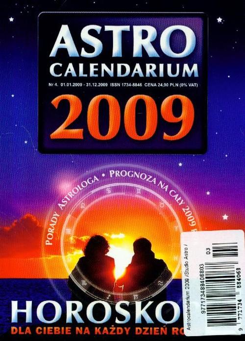 Astrocalendarium 2009 - brak