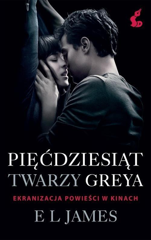 Pięćdziesiąt twarzy Greya okł. Filmowa - E.l. James