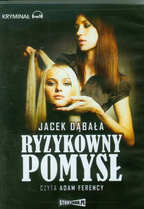 Ryzykowny pomysł audiobook - Dąbała Jacek