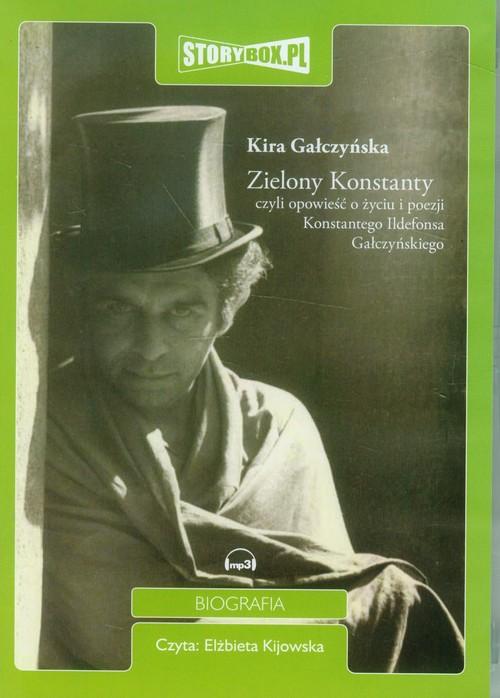 Zielony Konstanty audiobook - Gałczyńska Kira
