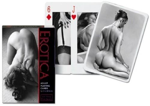 Karty pojedyncze Erotica PIATNIK - brak
