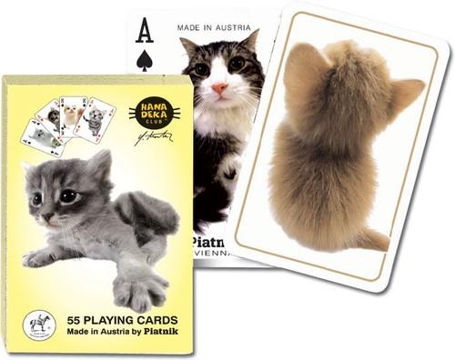 Karty do gry Piatnik 1 talia Hanadeka - Koty - brak