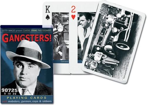 Karty do gry Piatnik 1 talia Gangsterzy - brak