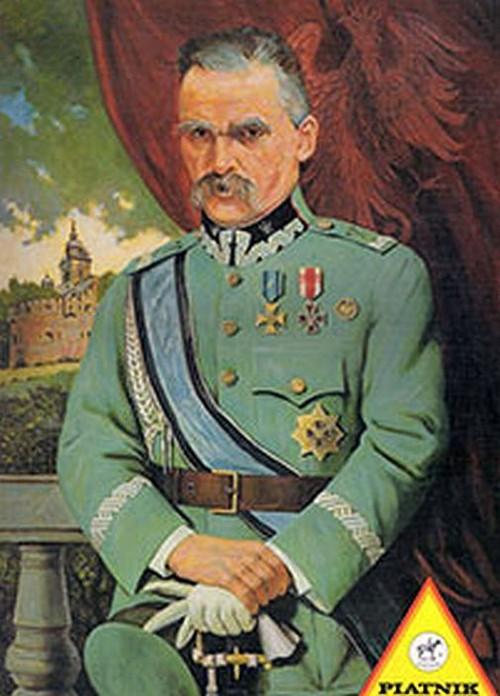 Puzzle Piatnik Marszałek Józef Piłsudski 1000 - brak