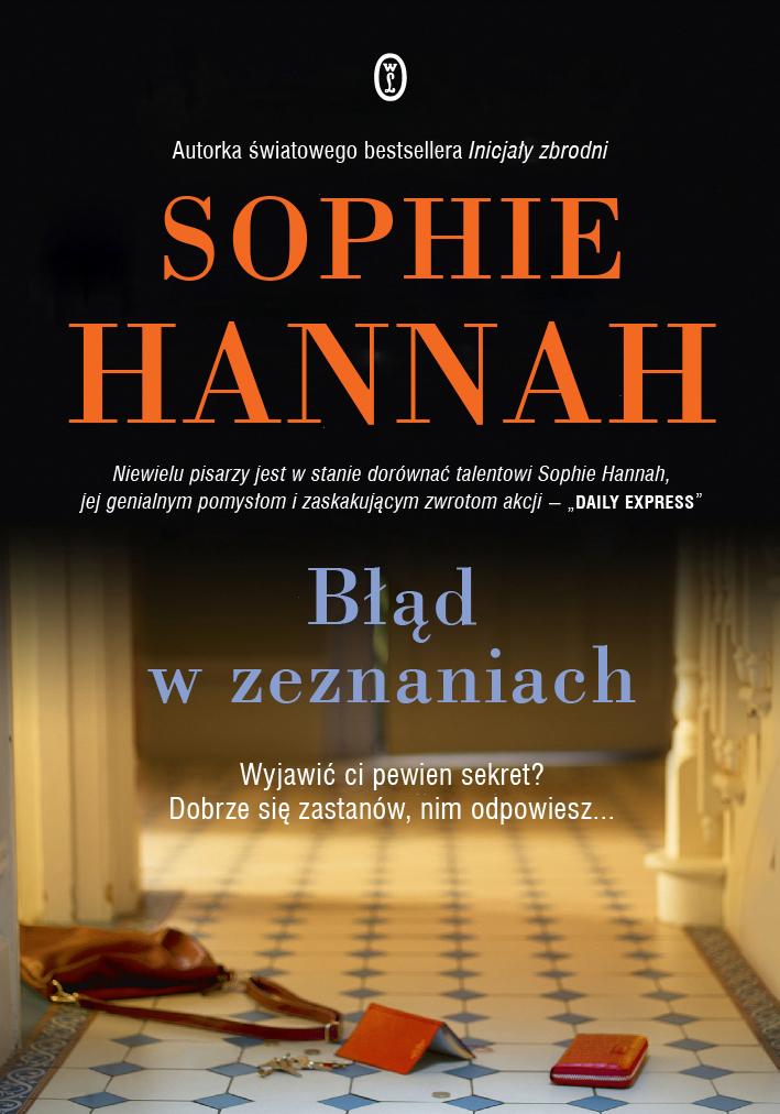 Błąd w zeznaniach - SOPHIE HANNAH