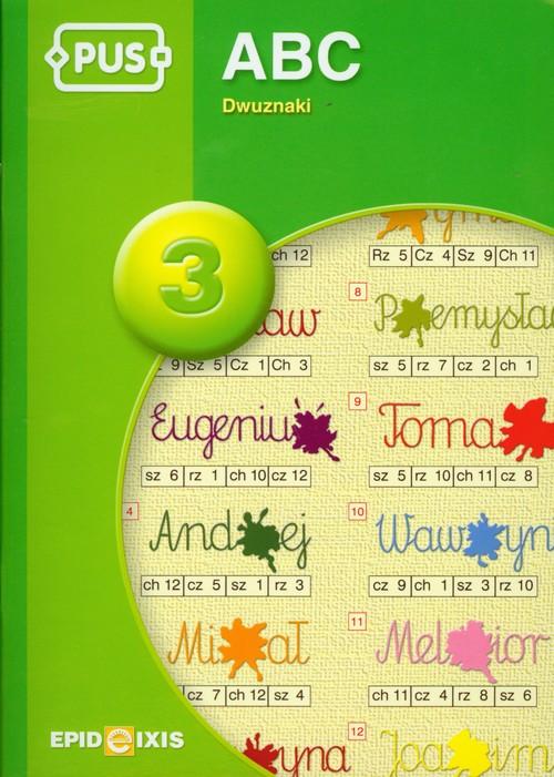 PUS ABC 3 Dwuznaki - Pyrgies Dorota
