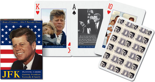 Karty do gry Piatnik 1 talia JFK - brak