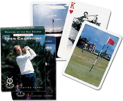 Karty do gry Piatnik 1 talia, Mistrzowie golfa - brak