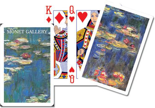 Karty do gry Piatnik 1 talia Monet, Lilie - Piatnik
