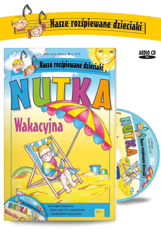 Nutka wakacyjna + CD - ADRIANA ANNA MIŚ