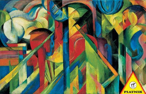 Puzzle Piatnik Franz Marc Stajnie 1000 - brak