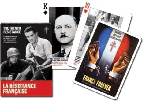 Karty do gry Piatnik 1 talia, Francuski ruch oporu - brak