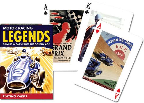 Karty do gry Piatnik 1 talia, Legendy Wyścigów - brak