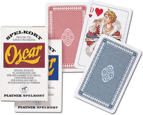 Karty do gry Piatnik 1 talia Oscar - brak