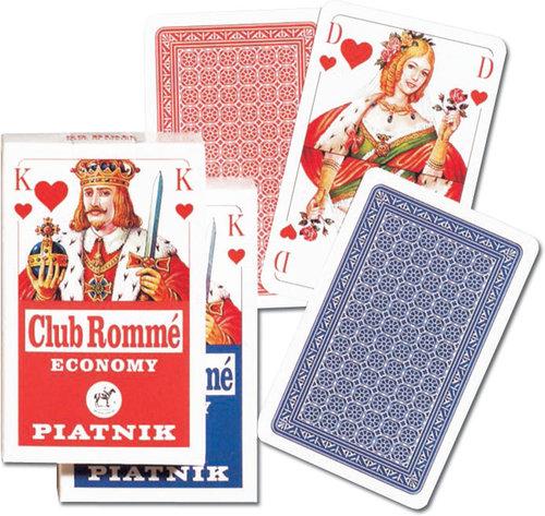 Karty do gry Piatnik 1 talia Club Romme niemieckie - brak