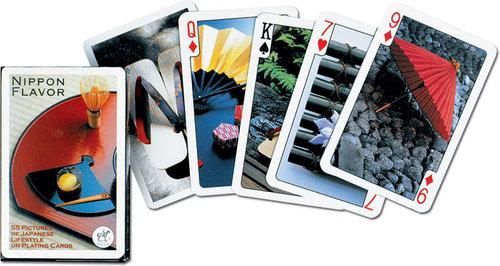 Karty do gry Piatnik 1 talia Japonia - brak