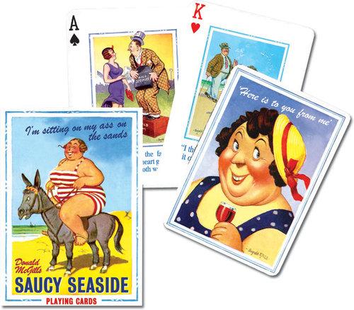 Karty do gry Piatnik 1 talia Saucy Seaside - brak