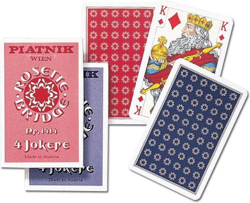 Karty do gry Piatnik 1 talia Rozeta - brak