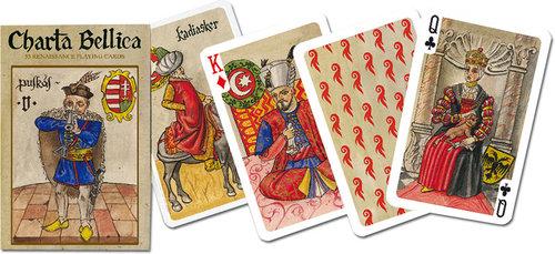 Karty do gry Piatnik 1 talia Charta Bellica - brak