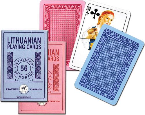 Karty do gry Piatnik 1 talia Litewskie - Piatnik