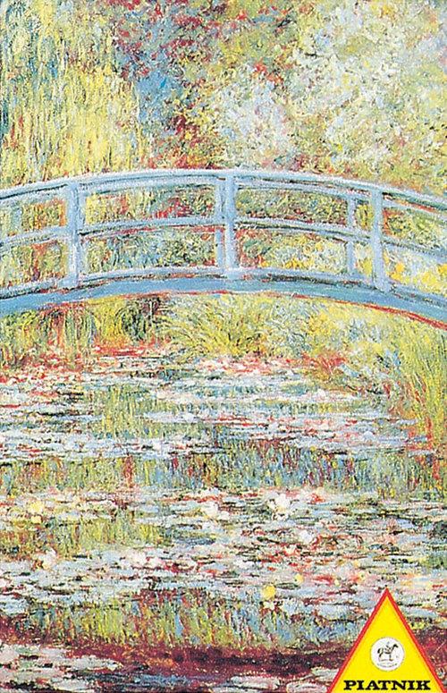 Puzzle Piatnik Monet Japoński mostek 1000 - Piatnik