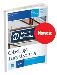 Obsługa turystyczna. Kwal.T.13 ćw cz.2 REA-WSiP - Iwona Michniewicz, Maria Pe
