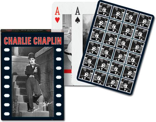 Karty do gry Piatnik 1 talia Charlie Chaplin - brak