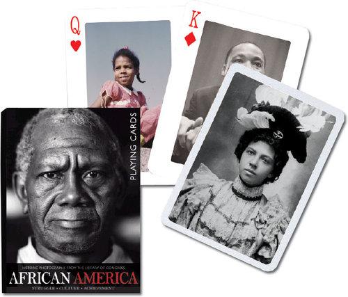Karty do gry Piatnik 1 talia African America - brak