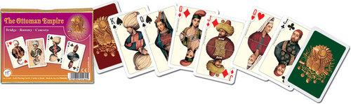 Karty do gry Piatnik 2 talie Imperium Osmańskie - brak