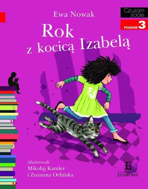 Czytam sobie - Rok z kocicą Izabelą - Nowak Ewa