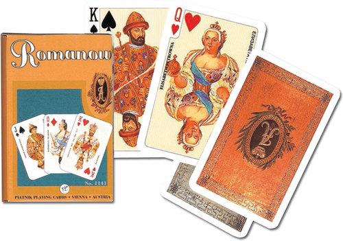 Karty do gry Piatnik 1 talia Dynastia Romanowów - brak