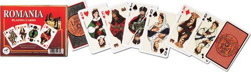 Karty do gry Piatnik 2 talie Rumunia - brak