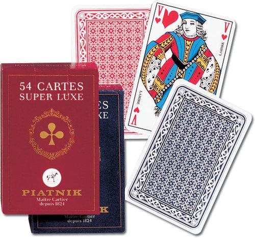 Karty do gry Piatnik 1 talia Super Luxe - brak